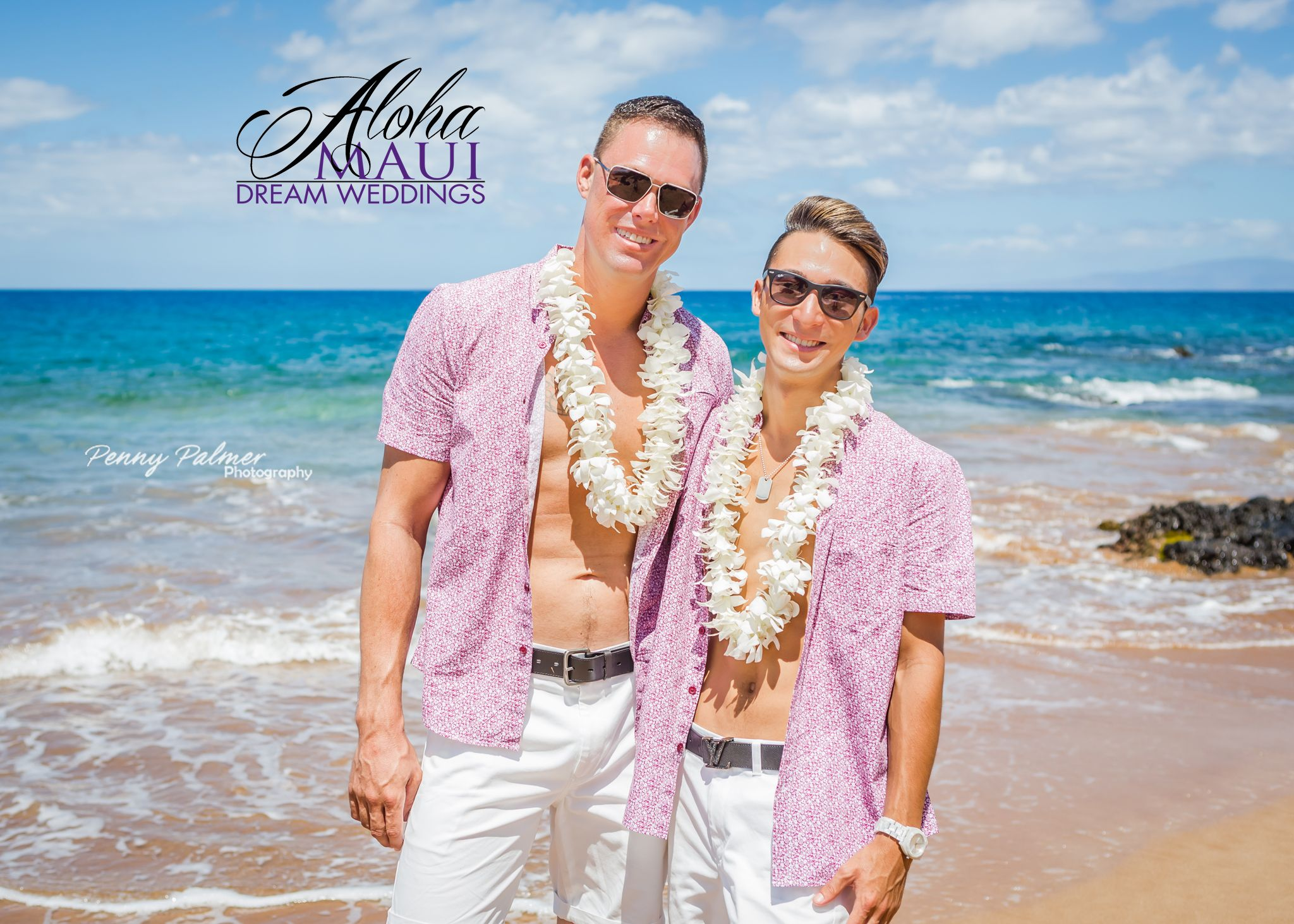 Lgbt Hawaiian Destination Wedding
