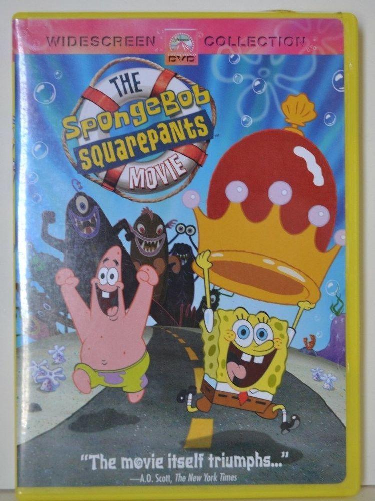 The Spongebob Squarepants Movies Dvd 2005 Widescreen Collection G Rated Spongebob Squarepants The Movie Spongebob Spongebob Squarepants