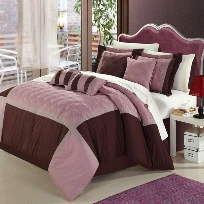 Quincy Rose 12 Pc Bed In A Bag By Luxury Bedding Co Bed In A
