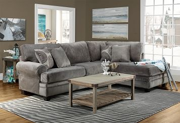 Living Room Furniture Lana 2 Pc Sectional