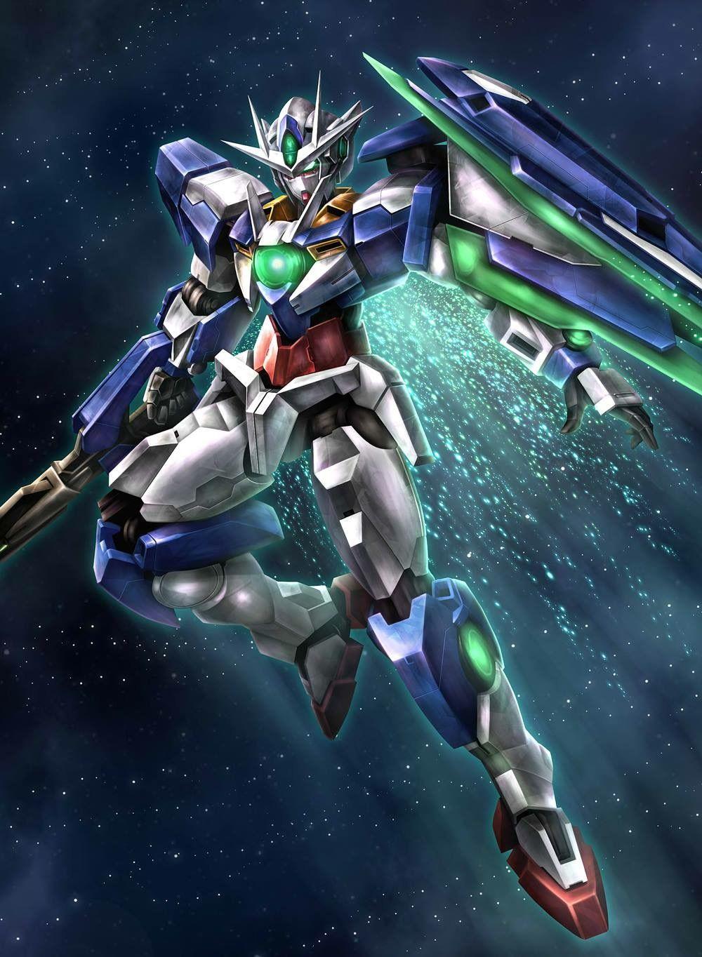 Mobile Suit Gundam 00 Gnt 0000 00 Qan T Gundam Exia Gundam