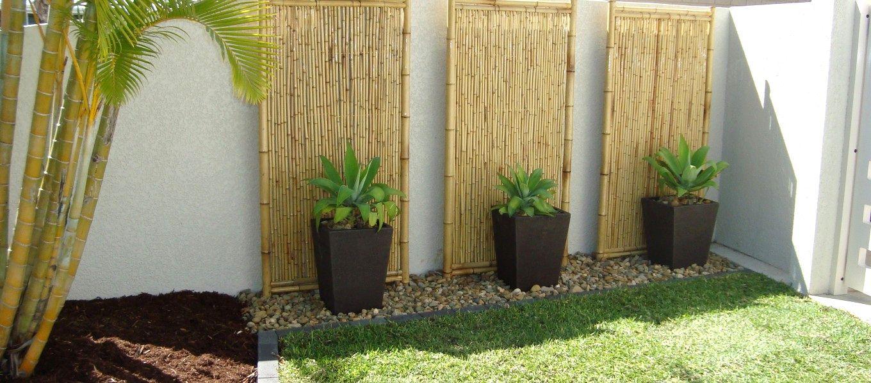 Small Square Garden Design Ideas Makeovers Inspiring Backyard And Garden Design Ideas With Bamboo Bamboo Garden Front Garden Design Small Garden Design