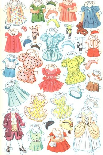27 dancing school paper dolls 4