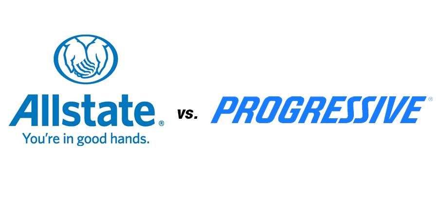 Compare Allstate Vs Geico Vs Progressive Vs State Farm