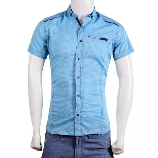 قميص رجالي تركي نصف كم Qh1437d Shirts Men Casual Mens Shirts