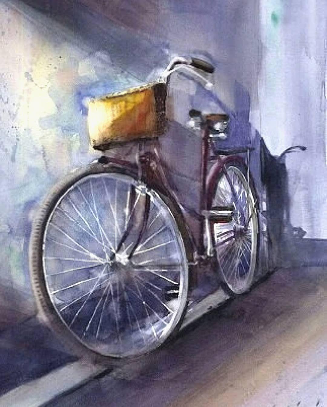Watercolor By Cemal Salimgul Watercolor Aquarelle Art