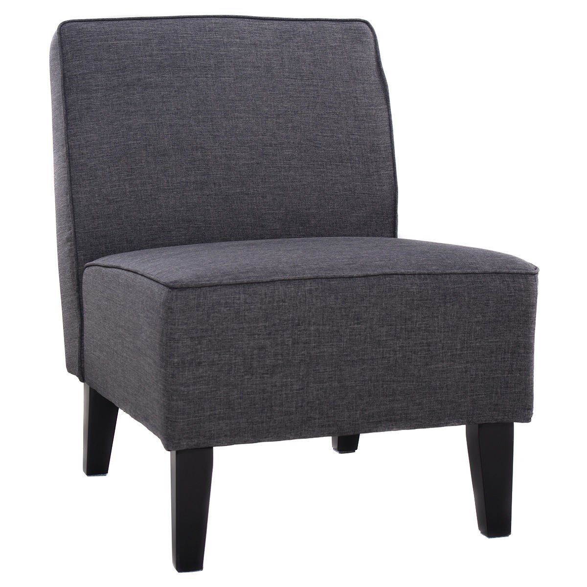amazon giantex deco solids accent chair armless