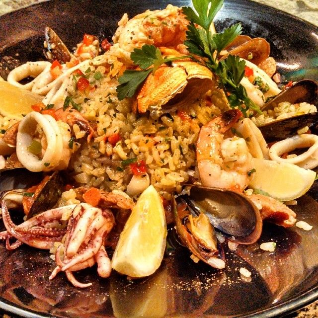 Seafood Risotto by Chef Dave  - # Viva Foodies