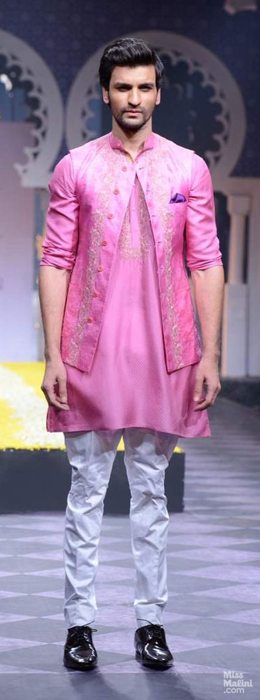 Raghavendra Rathore. Pink for men :) | Wedding - Sangeet wear ...
