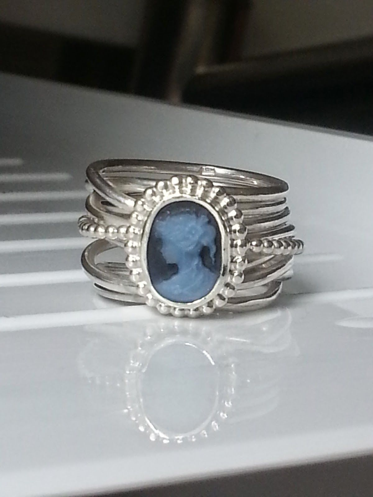 rings blue diamond topaz silver with tcw stone com collections center jewelryland square ring sterling genuine
