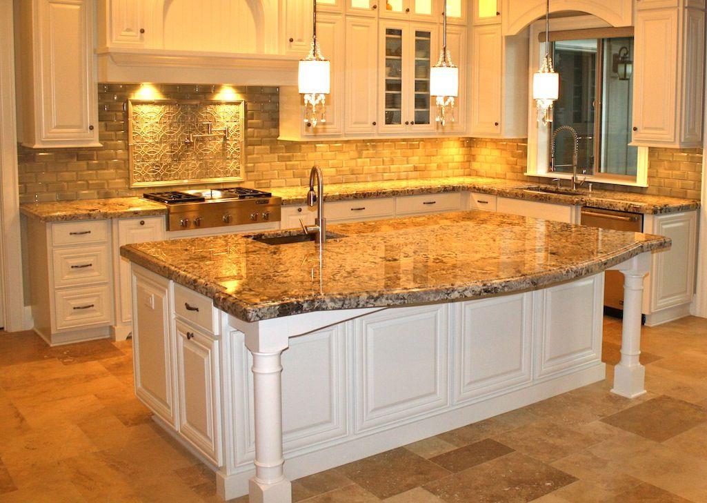Stone Tile Granite Counter White Coco