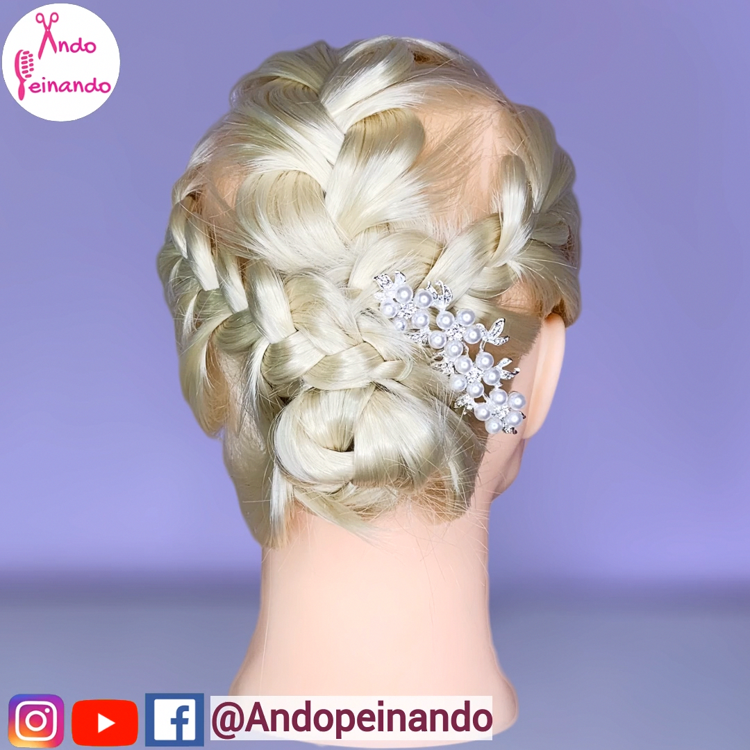 hairstyles, braids, hair videos, bridesmaid hair, hair braiding tutorial, short …