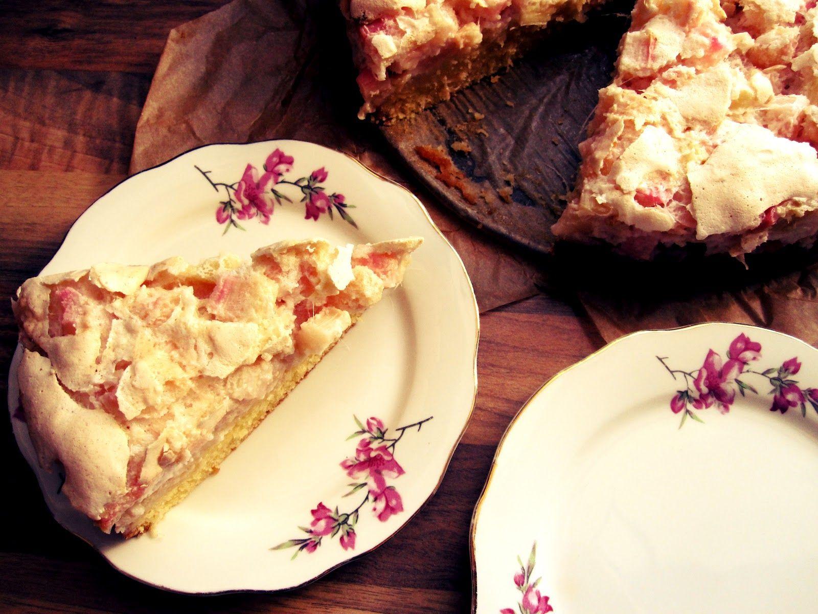 Tati Cupcake: Rhabarber-Baiserkuchen.