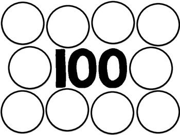100th Day Sorting Mat Freebie 100th Day Of School