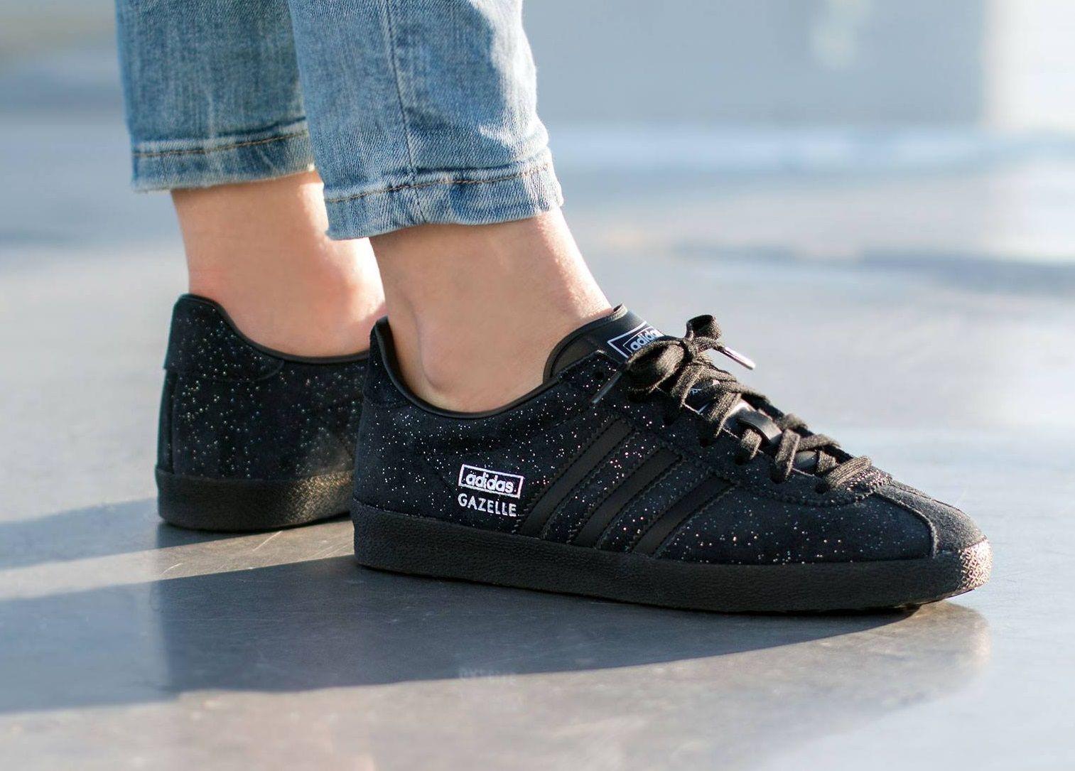 shopping buying new a few days away adidas Gazelle OG W (Core Black / Core Black / Silver ...