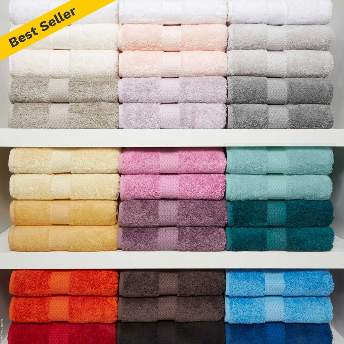 Visit Dewoolfsonlinens Com Etoile Bath Towels These Unbelievably Soft Sumptuous Towels Are Available In 20 Popular Solid Colo Towel Pioneer Linens Bath Towels