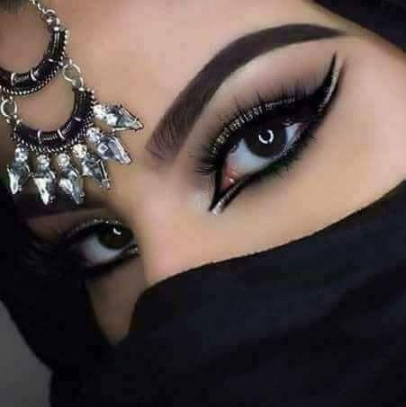 Raven Eyes Arabic Eye Makeup Belly Dance Makeup Arabic Makeup