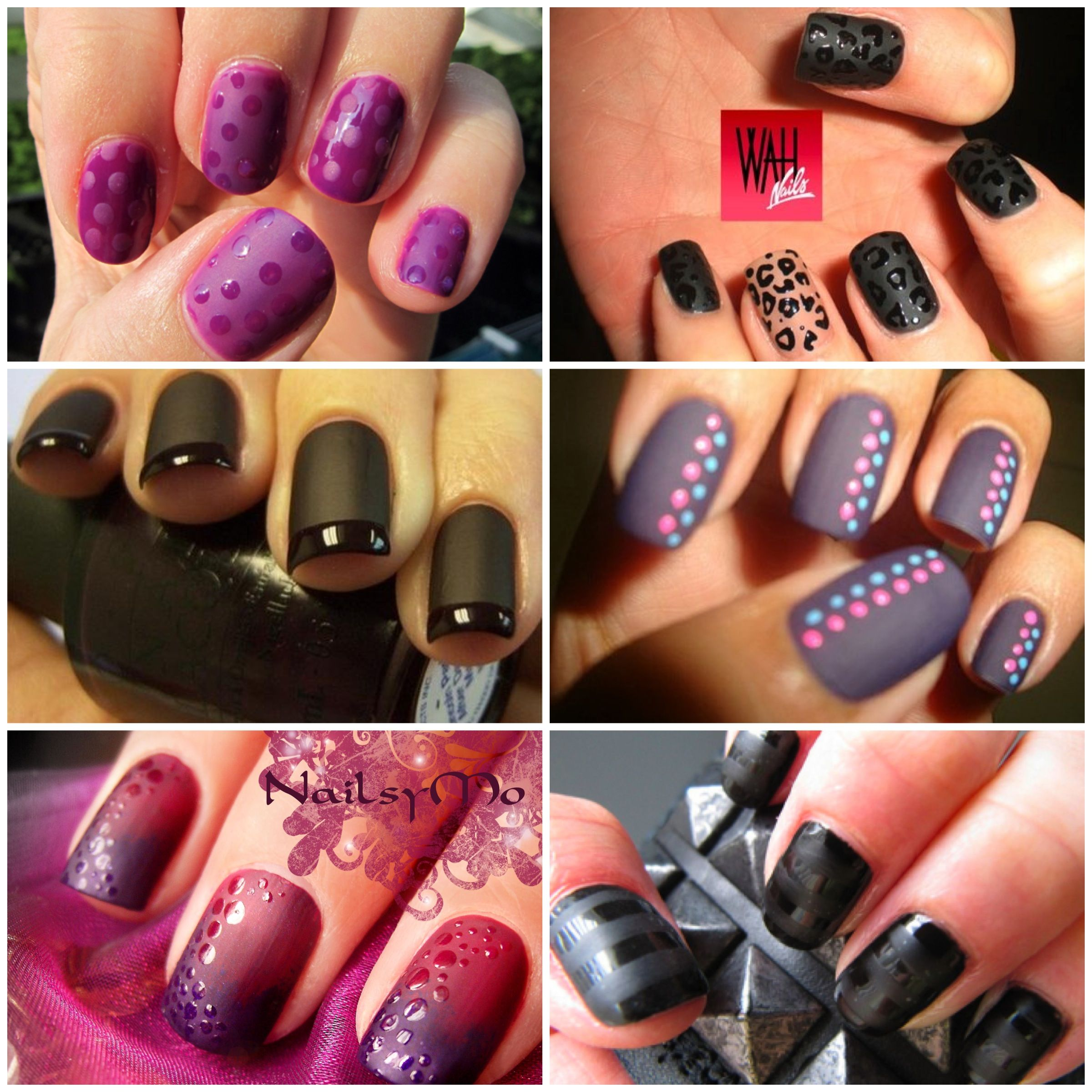 Opinion: Matte Nails? | health and beauty | Pinterest | Fingernägel ...