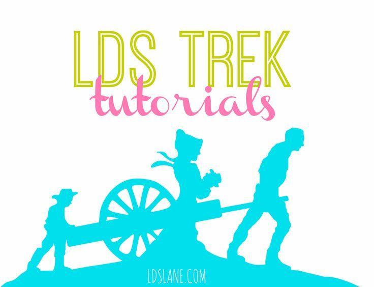 LDS Trek Tutorials at LDSlane.com | trek | Pinterest | Azul