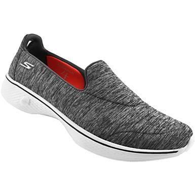 Online Store Skechers GOwalk 4 Excite Women's Walking Shoes Gray