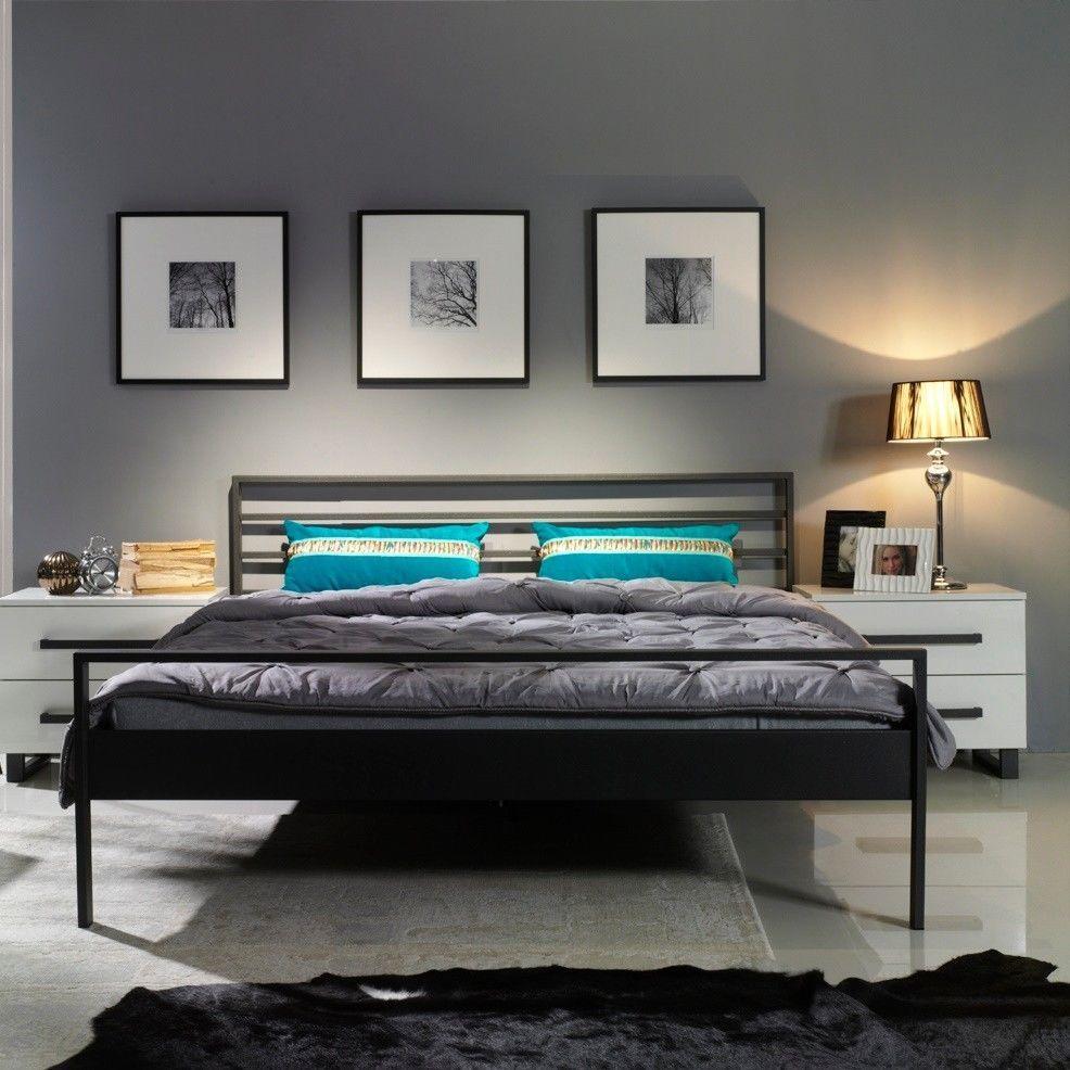 tuisto eisenbett metallbett schlafzimmer design bett