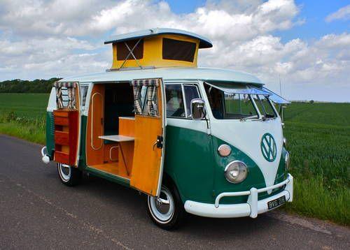 55881e2ab0 1967 VW Split Screen Camper Van SO42