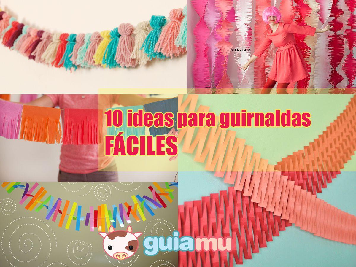 10 Guirnaldas Para Fiestas Facilisimas Cumpleanos Infantiles - Guirnaldas-para-fiestas-infantiles
