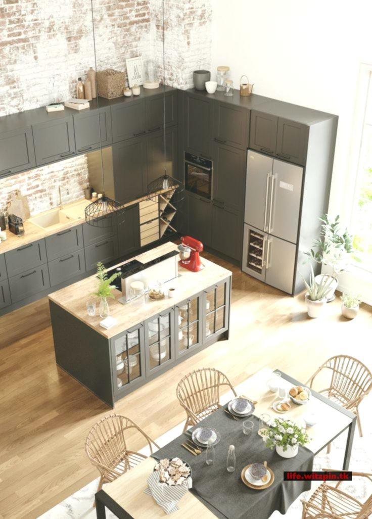 Open kitchen to the living room or dining room 20 examples of copying