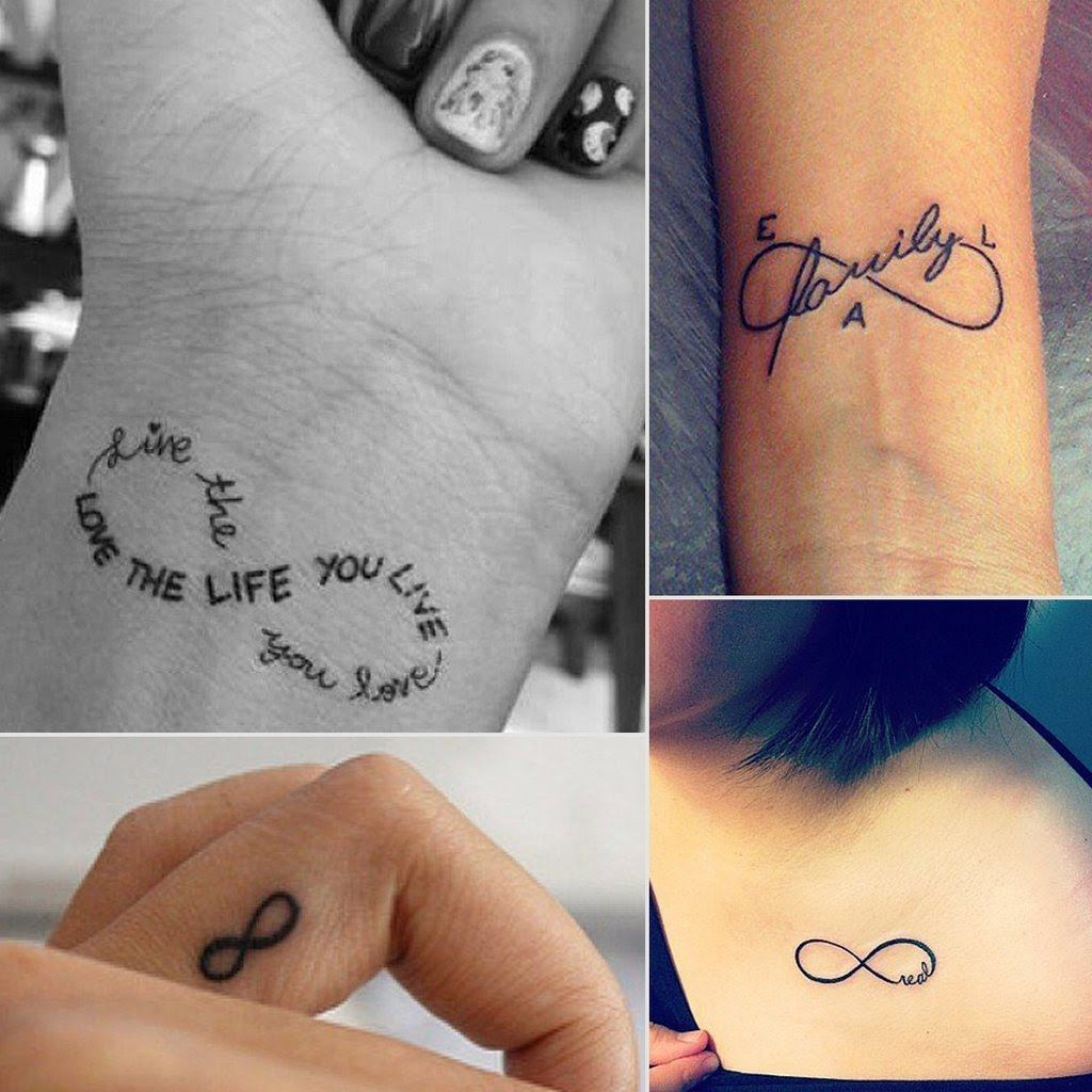 21 Infinity Sign Tattoos You Won't Regret Getting