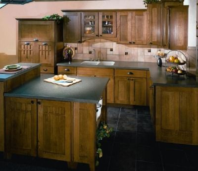 Craftsman style cabinets | For the Home | Pinterest
