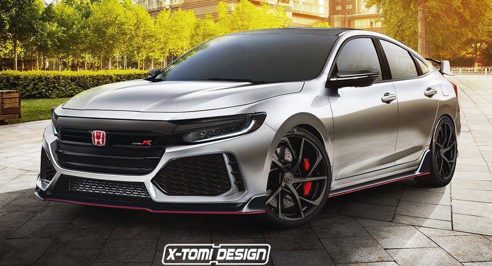 2019 Honda Insight Looks Surprisingly Good In Type R Guise Carscoops Honda Insight Honda Accord Honda Cars