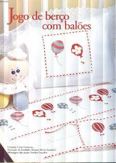 Вышивка крестом / Cross stitch : Воздушные шарики - вышивка крестом