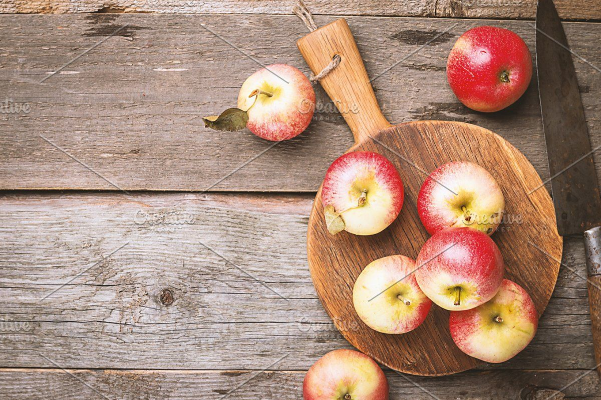 Fresh organic ripe apples #Sponsored , #sponsored, #apples#rustic#ripe#Fresh