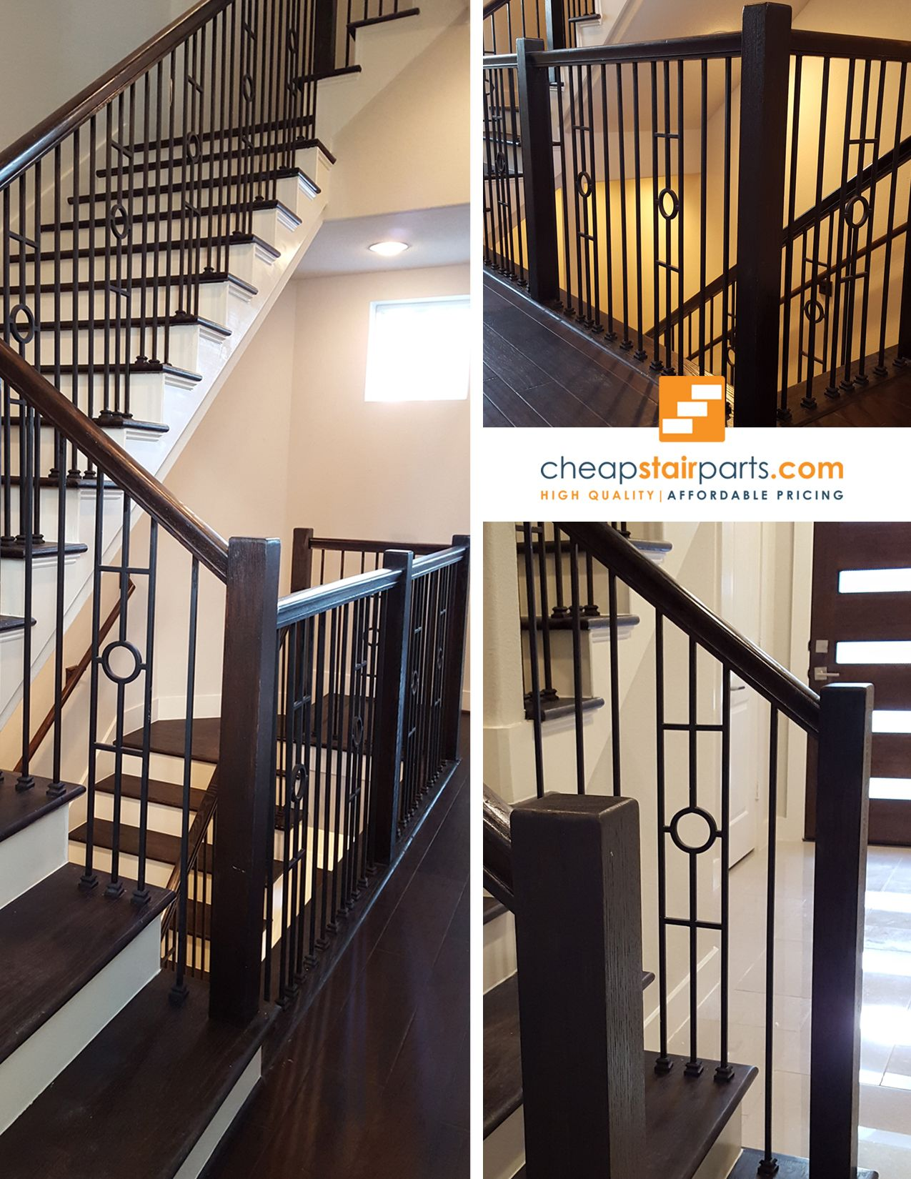 High Quality Stair Parts Used In New Staircase Construction And Home Stair  Remodel. Buy Online Industry Standard Iron Balusters, Newel Posts, Handrail  And ...