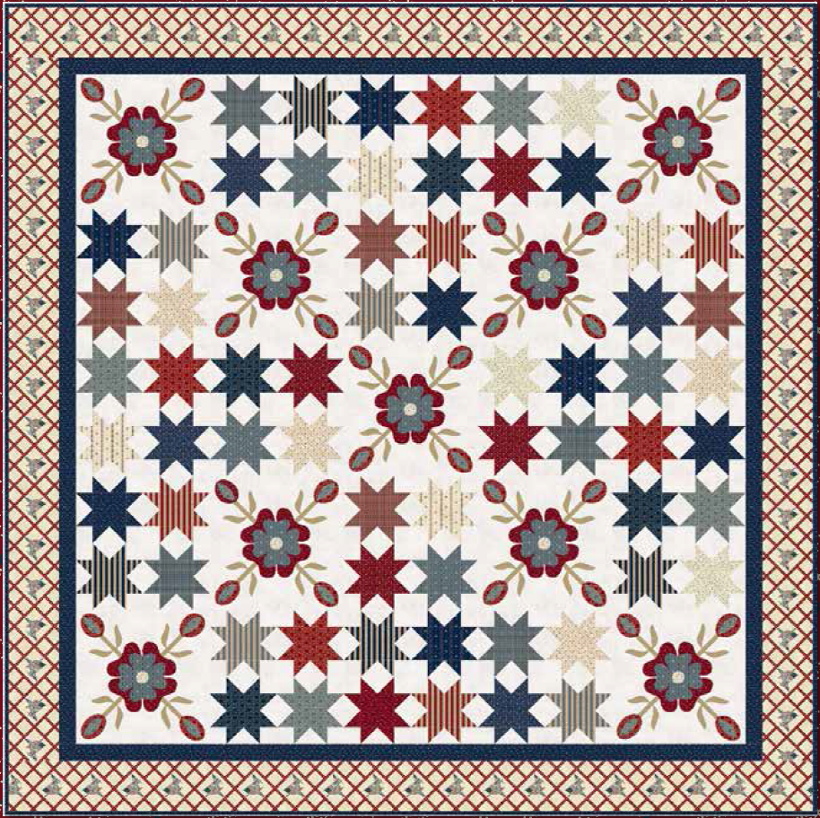 Free Pattern - Liberty Quilt from Penny Rose Fabrics