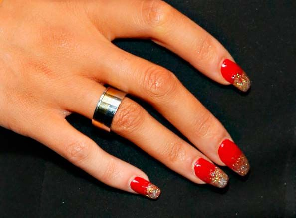 Celebrity Nail Art Designs