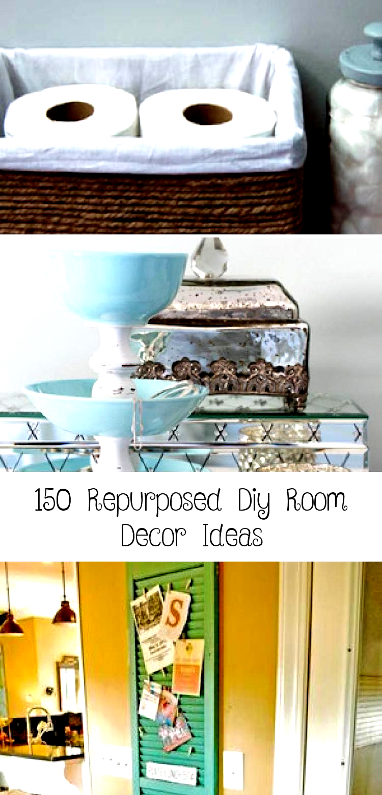 Photo of Transform everyday items like picture frames and old jars into unique home decor…