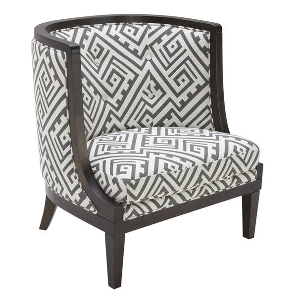 Features: -Nicholas collection. Chair Design: -Barrel Chair. Frame ...