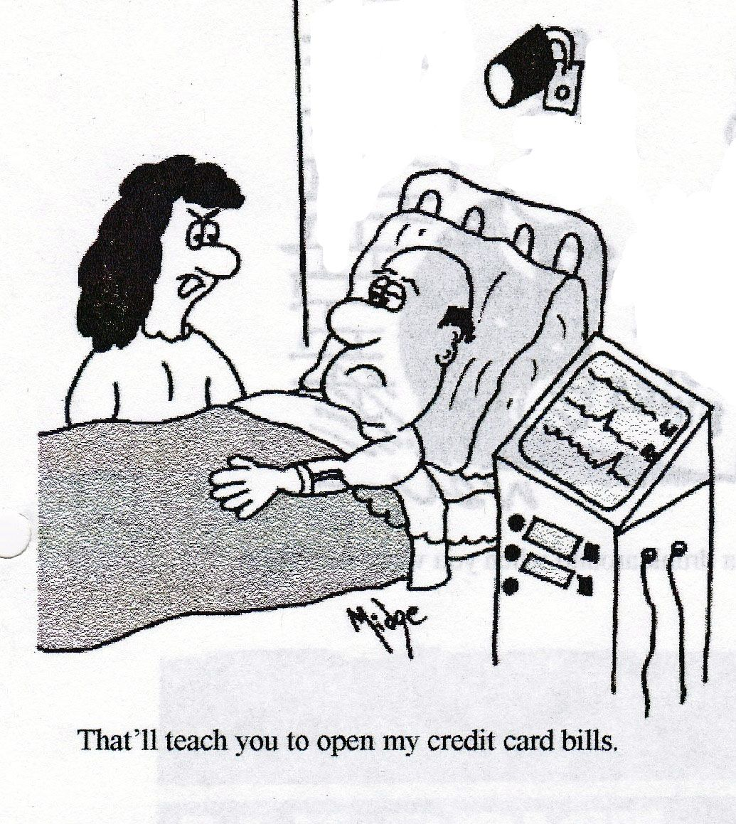 Image result for credit card jokes jokes funny women
