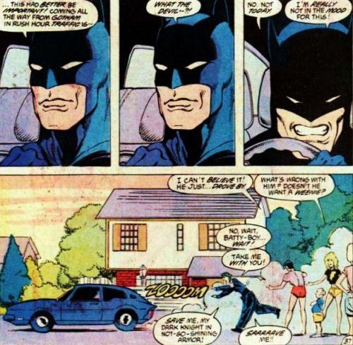 Batman aint got time for Jokers crap today.Justice League ...