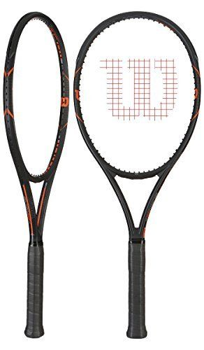 Wilson Burn FST 99 Tennis Racket 4 1//4 New