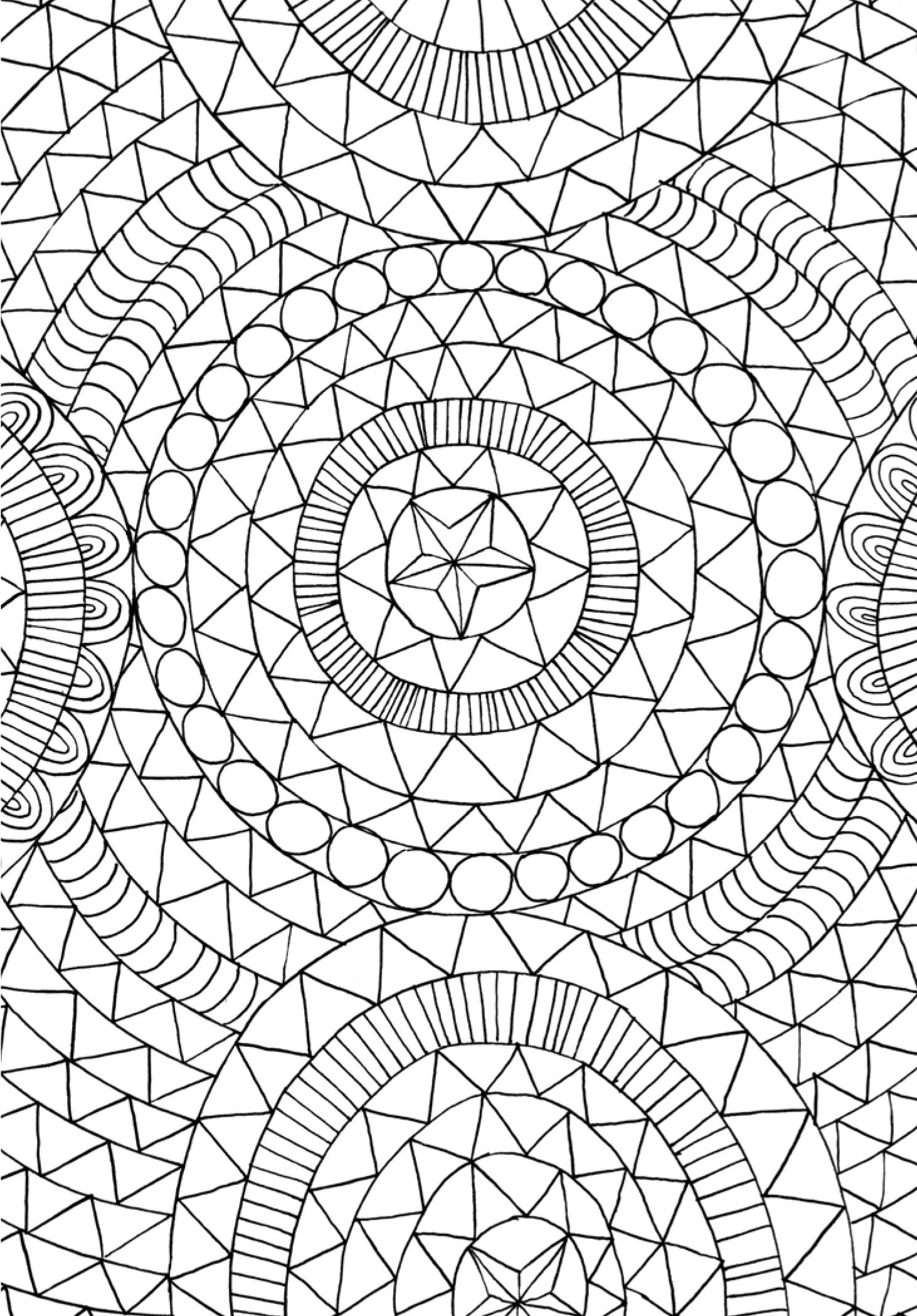 find this pin and more on coloringprintingdrawingpainting pagestattoos by jlsandvig1 - Pattern Coloring Books