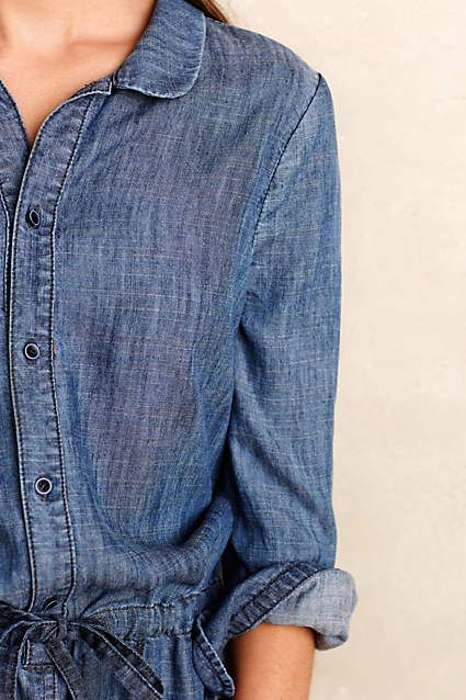 aa349cfdf416 Level 99 Chambray Romper - anthropologie.com  anthropologie  AnthroFave