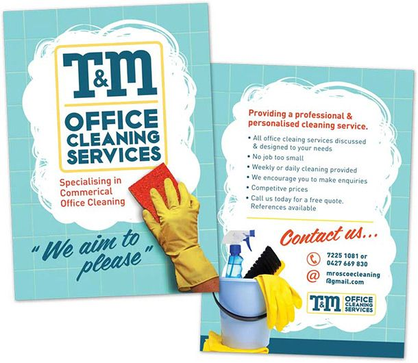 Cool Cleaning Service Flyers   Cleaning Service Flyer