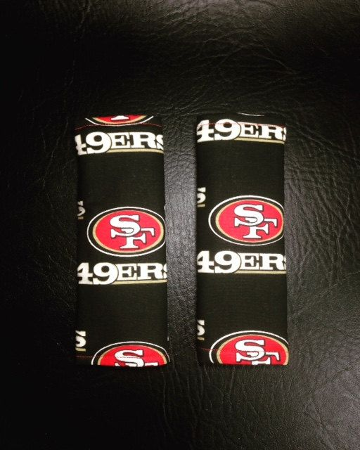 San Francisco 49ers Carseat Covers Seat Belt Baby