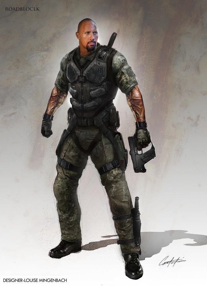 G.I. Joe Retaliation concept art