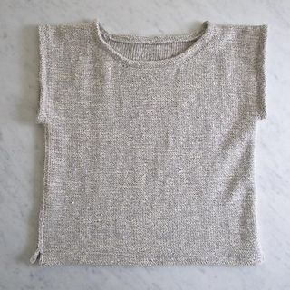 Photo of Over-the-Top Top pattern by Purl Soho