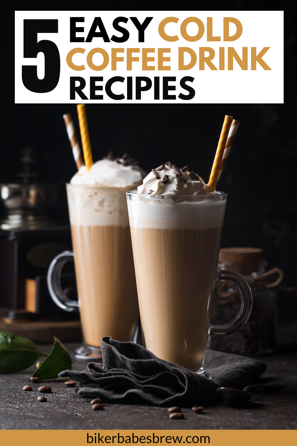 5 Must Try Ice Coffee Recipes Biker Babe's Brew Coffee