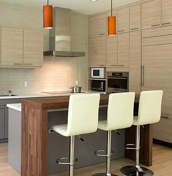 10 innovative Küchenbar Designs für eine moderne Kücheneinrichtung