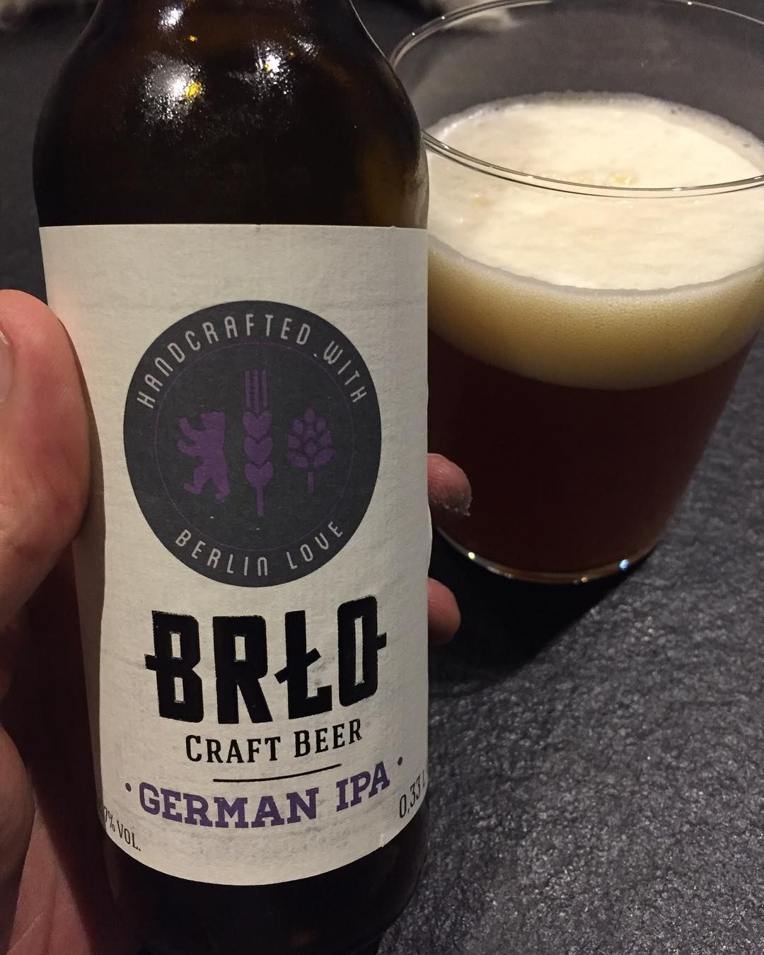today a #brlobeer  a #german #ipa from #berlin . Not bad! #craftbeer #beer #germany #microbrewery #microbrewing #microbrew